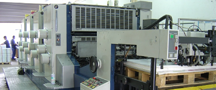 commercial utilisé des machines d'impression Komori