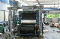 CLR International dismantling  a used KBA printing press in Germany