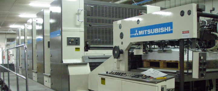 commercial utilisé des machines d'impression Mitsubishi
